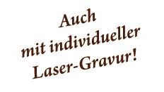 Grillzangen mit individueller Lasergravur